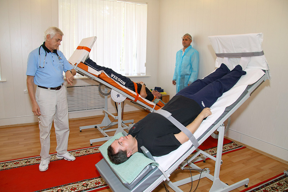 Medical Examination under the Cosmonaut Program
